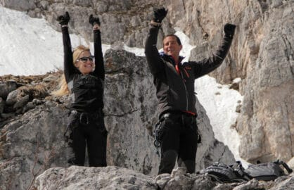 Kate Hudson Bear Grylls