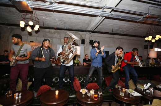 Jon Batiste and Stay Human at Soho House Chicago's Opening festivities last summer. (Jeff Schear/Getty Images for Soho House Chicago)