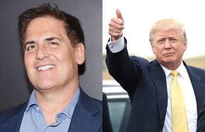 Mark Cuban Donald Trump