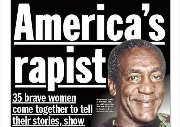 Bill Cosby Is America S Rapist On New York Daily News