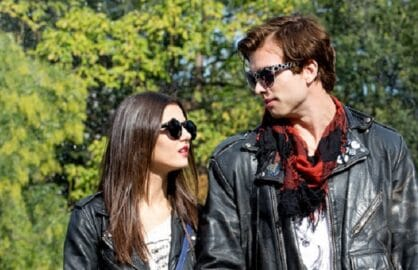 "Victoria Justice in ""Naomi and Eli's No Kiss List"" On Location in Washington Square Park-NY"