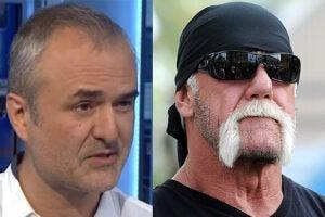 Nick Denton and Hulk Hogan