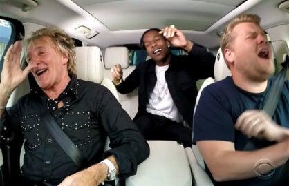 Rod Stewart Carpool Karaoke