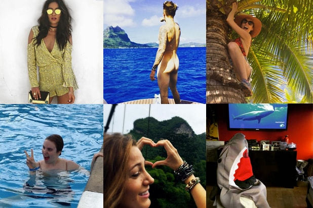 16 stars share summer vacation photos on instagram
