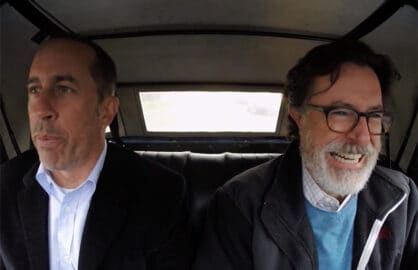 Stephen Colbert Comedians in Cars