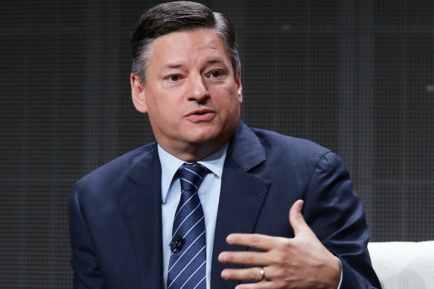 Ted Sarandos, Netflix chief content officer, at the TCA conference earlier this year