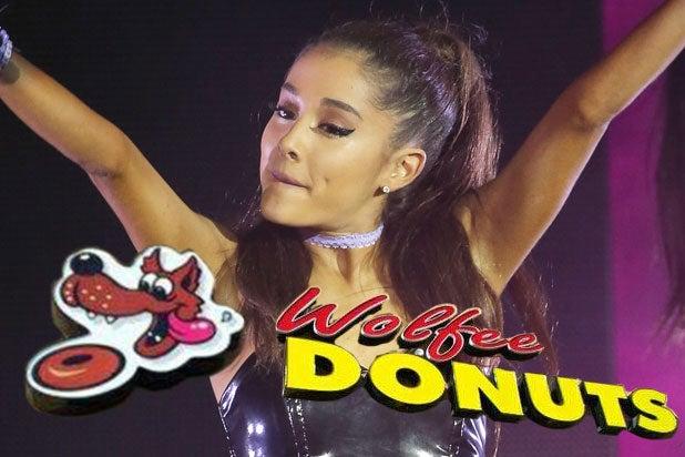 ariana grande donuts