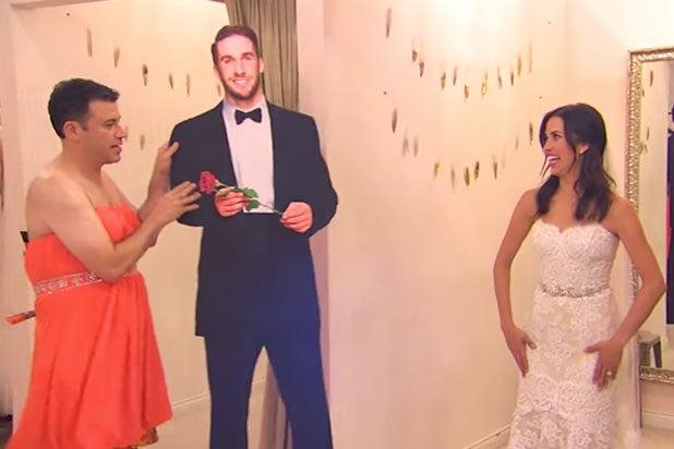 Jimmy Kimmel Takes Bachelorette Kaitlyn Bristowe Shopping For Wedding Dress Video
