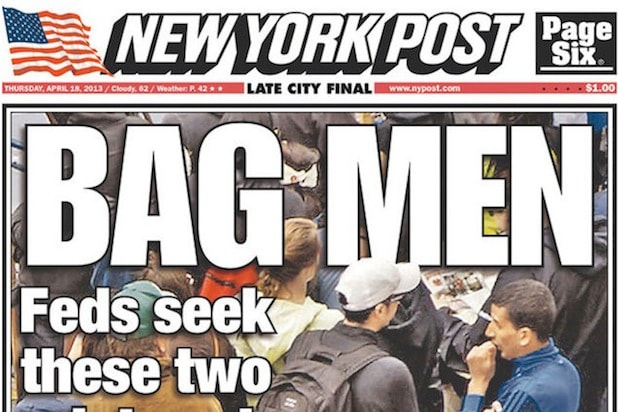 bag men sue ny post