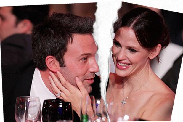 Ben Affleck and Jennifer Garner (Christopher Polk/Getty Images for VH1)