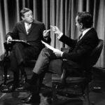 William F. Buckley and Gore Vidal in Best of Enemies