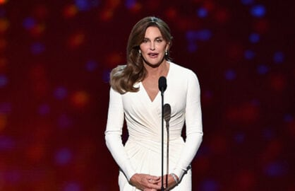 2015 ESPYS: Caitlyn Jenner accepts the Arthur Ashe Courage Award (Kevin Winter/Getty Images)