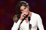 Caitlyn Jenner stifles at the 2015 ESPYS (Kevin Winter/Getty Images)