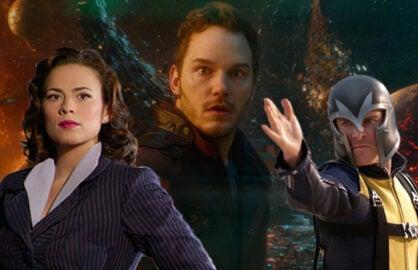 """Agent Carter,"" ""Guardians of the Galaxy,"" ""X-Men: First Class"" (ABC; Marvel; Walt Disney Studios; Fox)"
