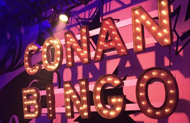 Conan Bingo, Conan O'Brien at San Diego Comic-Con (Suzette Valle)