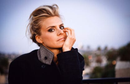 Actress Eliza Coupe (Catie Laffoon)