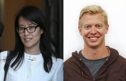 Ellen Pao, Steve Huffman, Reddit (Getty Images; Hipmunk)