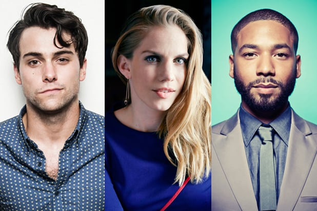 Jack Falahee, Anna Chlumsky and Jussie Smollett (Kris Connor; Andrew Stiles; Dan Busta for TheWrap)