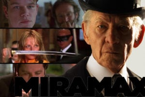 Good Will Hunting, Kill Bill, Pulp Fiction, Mr. Holmes (Miramax)
