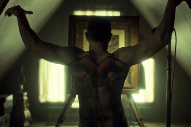 Richard Armitage as killer Francis Dolarhyde in