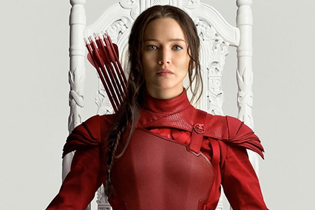 Hunger Games Mockingjay Part 2 Katniss poster Jennifer Lawrence (Lionsgate)