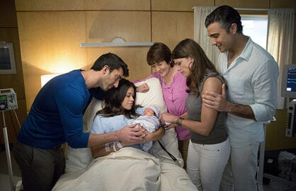 "A still of characters from CW show ""Jane the Virgin"""