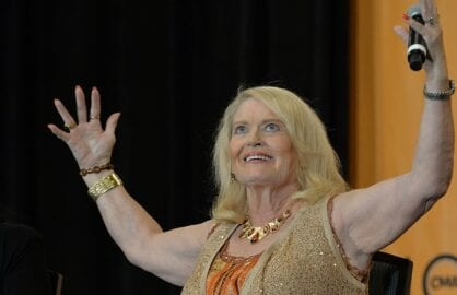 NASHVILLE, TN - JUNE 06: Lynn Anderson appears at CMA Close Up Stage: 70's Heritage Panel at Music City Convention Center on June 6, 2013 in Nashville, Tennessee. (Photo by Rick Diamond/Getty Images)