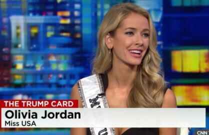 Miss USA Olivia Jordon on Don Lemon (CNN)