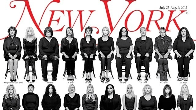 New York magazine Cosby cover Instagram post
