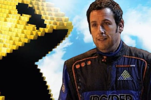 adam sandler s punchless pixels falls to ant man at box office