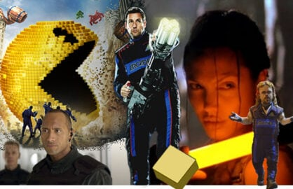 Pixels, Doom, Lara Croft: Tomb Raider (Sony; Universal; Paramount)