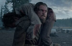 '20th Century Fox/New Regency' from the web at 'http://www.thewrap.com/wp-content/uploads/2015/07/revenant-leonardo-dicaprio-300x194.jpg'