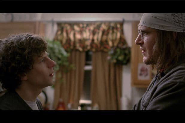 The End of the Tour's Jesse Eisenberg, Jason Segel