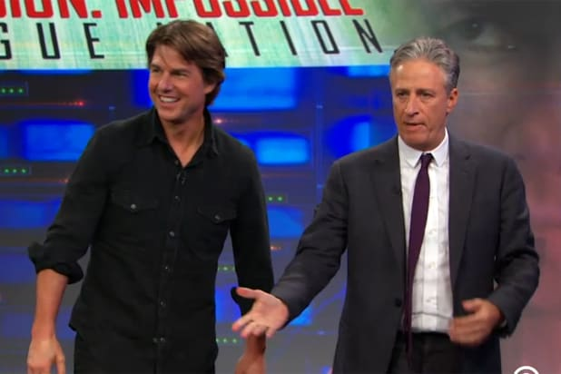 Tom Cruise appears on The Daily Show with Jon Stewart (Comedy Central)