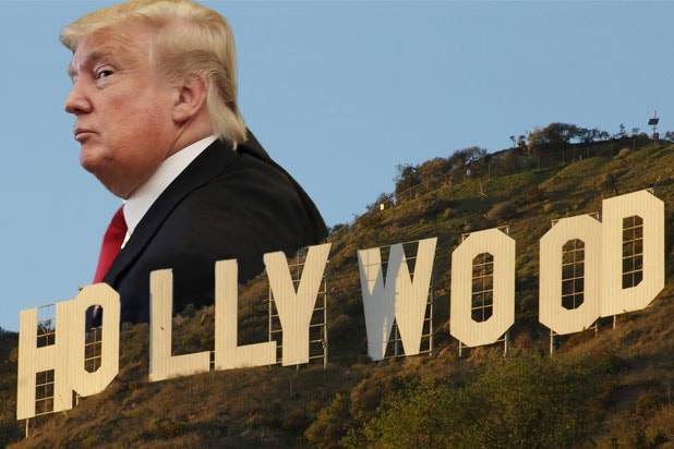 trump hollywood