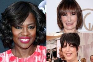 Viola Davis, Gale Anne Hurd, Diane Warren (Getty Images)