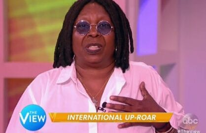 whoopi goldberg the view cecil the lion
