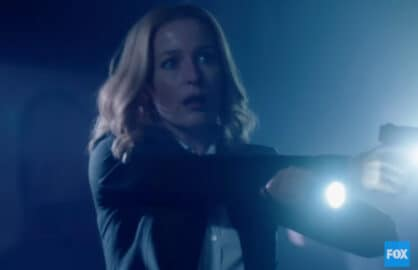 "Gillian Anderson is Agent Dana Scully in ""The X-Files"" (Fox)"