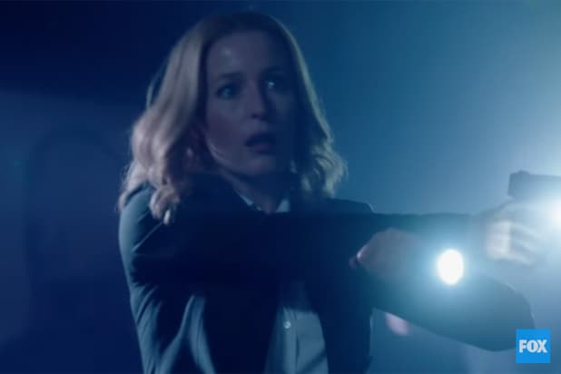 """Gillian Anderson is Agent Dana Scully in """"The X-Files"""" (Fox)"""