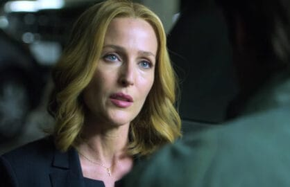 'The X-Files' new look with Gillian Anderson (Fox)