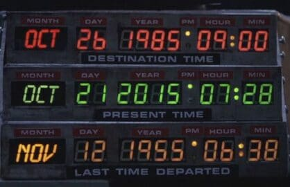 Back to the Future Back in Time documentary