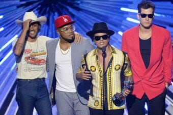 Bruno Mars Mark Ronson