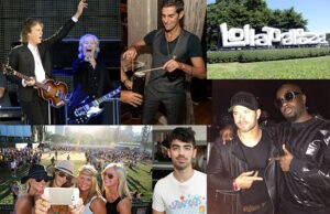 Paul McCartney, Kellan Lutz, Wyclef Jean, Perry Farrell and more top the sightings, highlights, and behind the scenes at Lollapalooza 2015 in Chicago. (Getty Images, Julie Fogel)