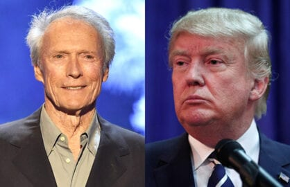 Clint Eastwood Donald Trump