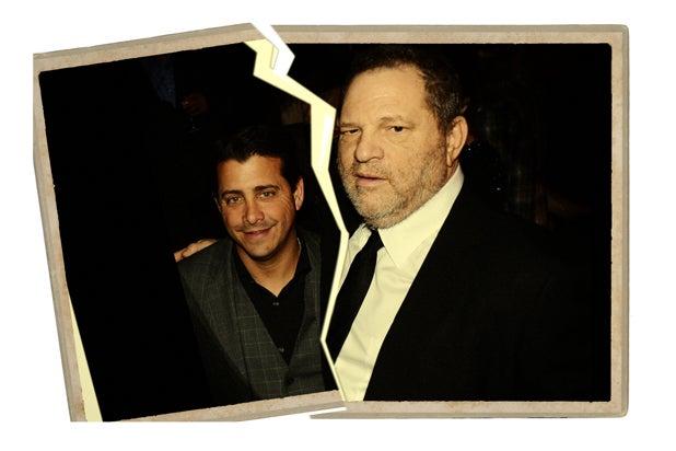 David Glasser and Harvey Weinstein