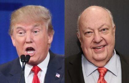 Donald-Trump-Roger-Ailes