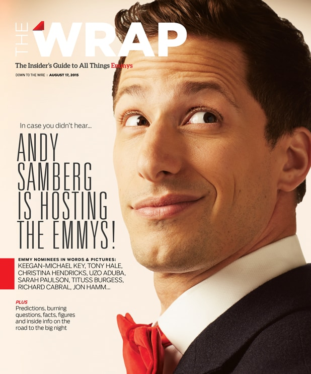Andy Samberg Wrap cover