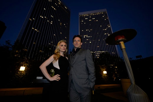 """Anna Paquin and Stephen Moyer at a previous """"Evening Before"""". (Getty Images)"""