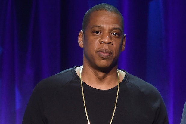 Jay Z at a launch event for Tidal