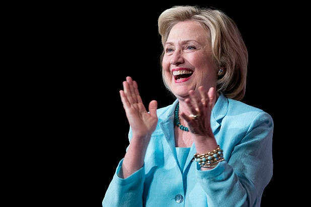 Hillary Clinton, Iowa Wing Ding, TheWrap